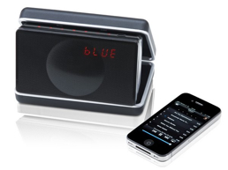 Geneva Model XS Portable FM alarm clock music system with Bluetooth