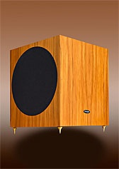 Image sub12 Subwoofer in rimu finish