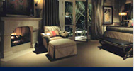 Relax with Lutron lighting control