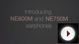 Introducing the NE750M & NE800M earphones by NuForce