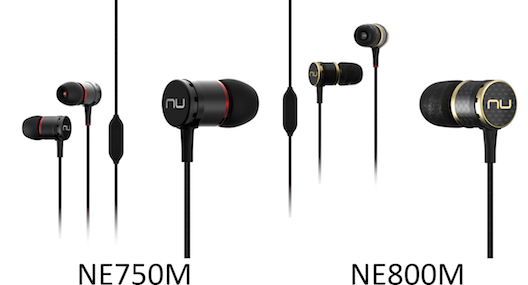 Nuforce NE 750M & NE 800M earphones from Totally Wired