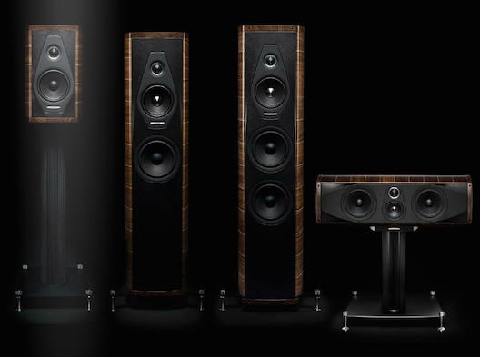 totally wired sonus faber olympica speakers. Black Bedroom Furniture Sets. Home Design Ideas