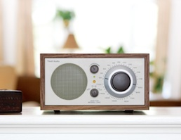 Tivoli Bluetooth Model One radio Walnut/beige from Totally Wired