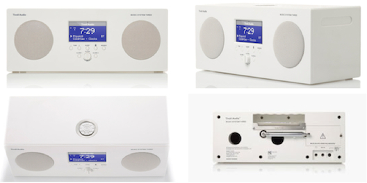 Tivoli Music System Three White