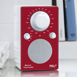 Tivoli PAL Bluetooth in red