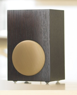 Tivoli Networks stereo speaker in wenge
