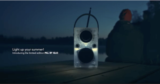 Tivoli PAL bluetooth portable radio that glows from Totally Wired