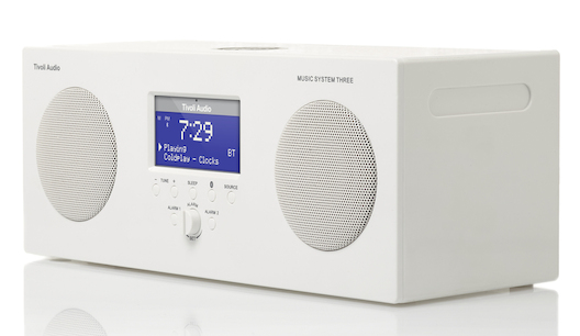 Tivoli Music System Three in white